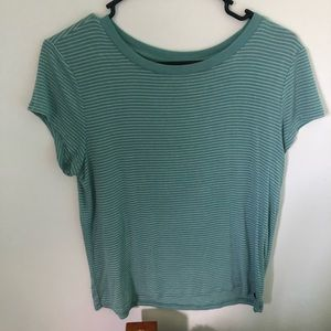 american eagle striped tshirt